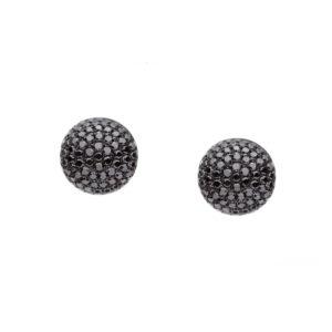 IMG_9598 - brincos em ouro branco com diamantes negros